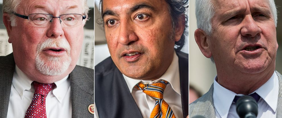 PHOTO: Representatives Ron Barber, Ami Bera, and Jim Costa are all trying to hold on to their seats in races that still havent been decided.
