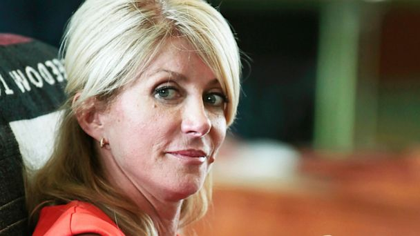 GTY wendy davis ml 130717 16x9 608 Wendy Davis, After Texas Filibuster, Goes to Washington