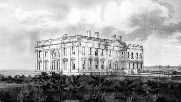 GTY white house 1814 drawing jef 140825 16x9 608 British Embassy Celebrates Burning the White House 200 Years Ago, Apologizes