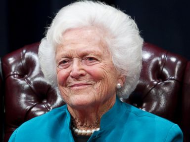 Former First Lady Barbara Bush Being Treated for Bronchitis
