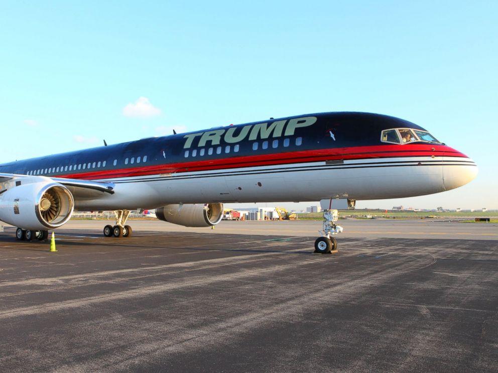 PHOTO: Trump Jet.