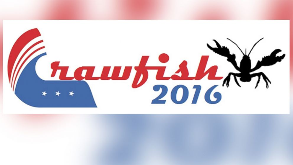 PHOTO: An undated picture of crawfish campaign logo from www.crawfish2016.com, who is running for office in the 2016 presidential campaign.