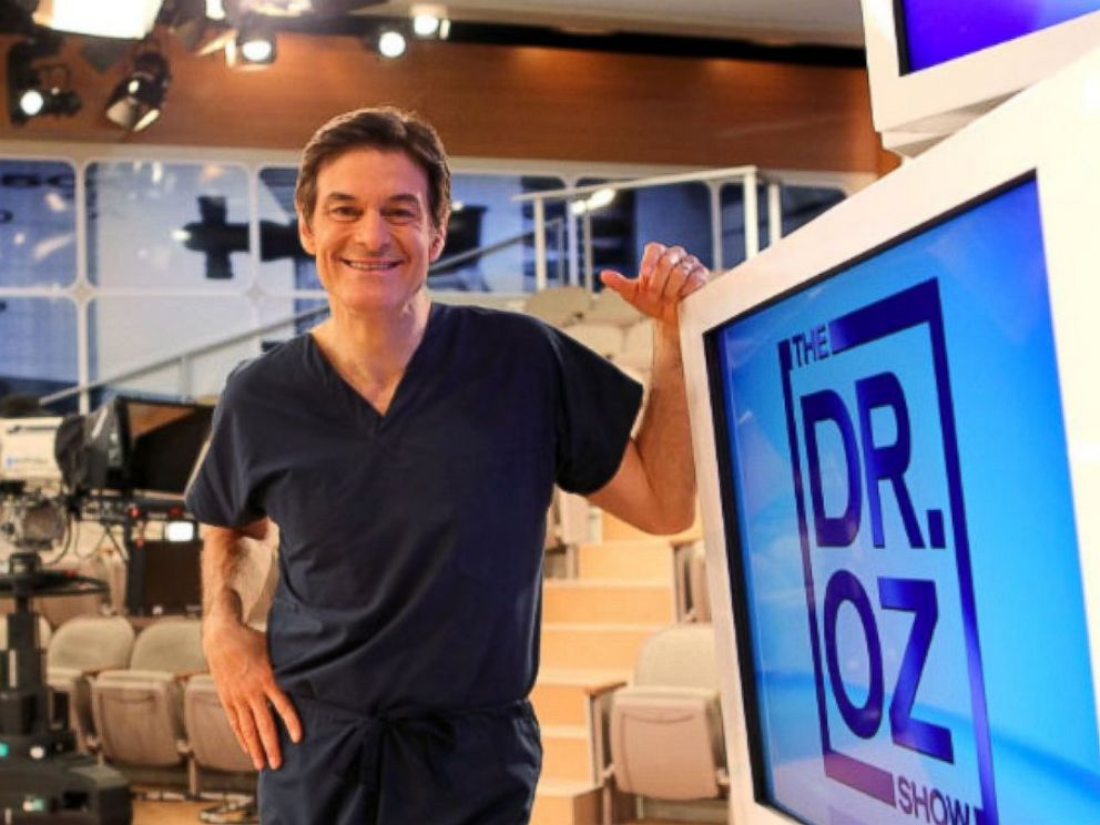 PHOTO: Dr. Mehmet Oz, is pictured here in this undated photo, on his TV show The Dr. Oz Show.