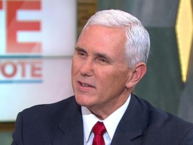 Mike Pence Says Trump 'Took Command of the Stage' in Debate