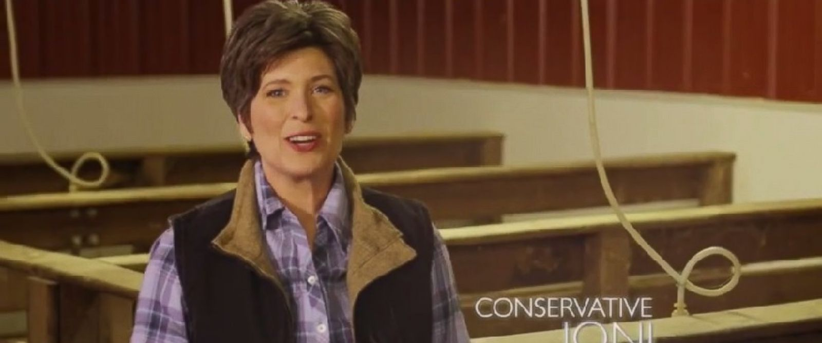 PHOTO: Senate candidate Joni Ernst wants to make Washington squeal.
