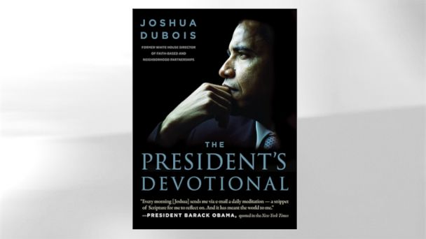 HT Joshua DuBois The Presidents Devotional book jt 131023 16x9 608 Read an Excerpt of Joshua DuBois Book The Presidents Devotional