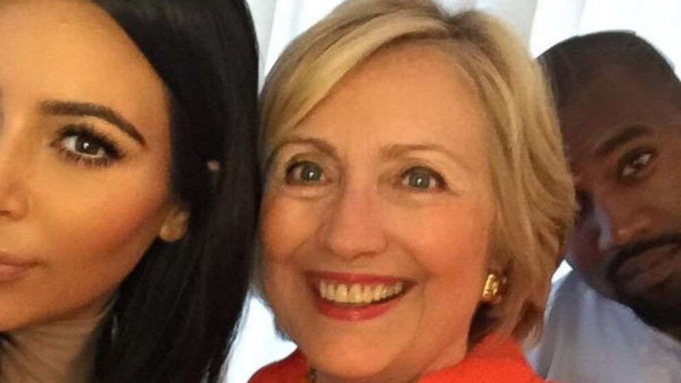 Image result for hillary clinton and kim kardashian