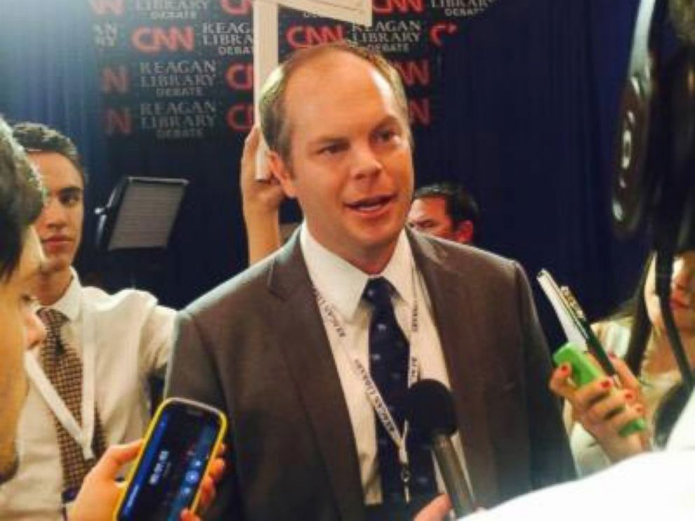 PHOTO: Communications director for Marco Rubio, Alex Conant is see in this undated Twitter photo.