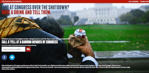HT drunk dial congress lpl 131010 33x16 608 Congress Got You Down? New Site Lets You Drunk Dial Them