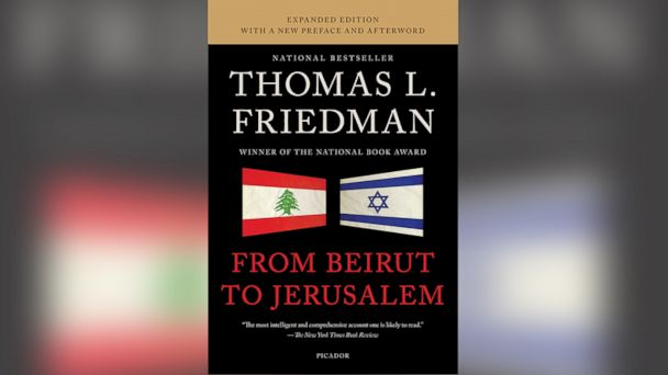 HT from beirut to jerusalum jt 140222 16x9 608 Excerpt: Thomas Friedmans From Beirut to Jerusalem