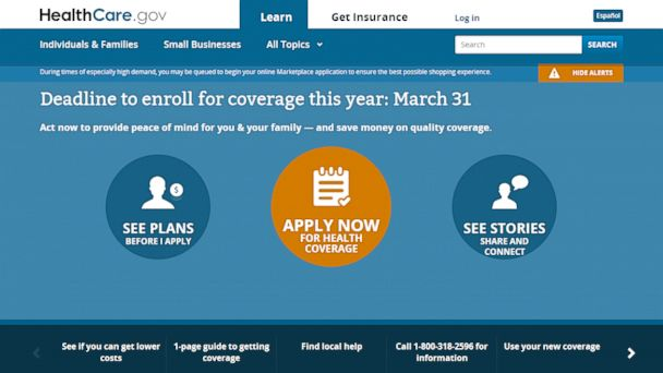 HT healthcare.gov blur h jt 140322 16x9 608 Obamacare Turns 4: The (Very) Long, Strange Trip to Now