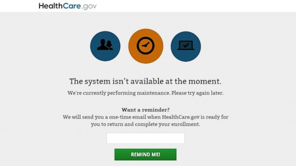 HT healthcare.gov down 720am tk 140331 16x9 608 Obamacare Surge Staggers Computers, Delights White House