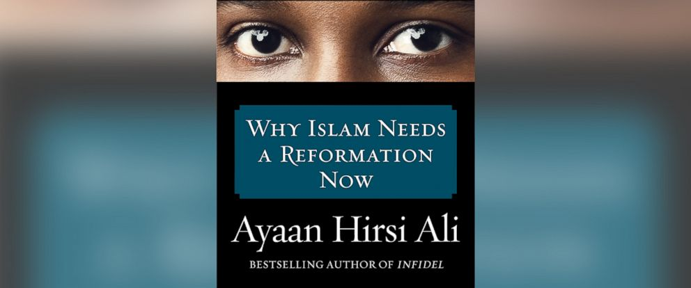 "PHOTO: Book cover for ""Heretic: Why Islam Needs a Reformation Now"" by Ayaan Hirsi by arrangement with Harper, an imprint of HarperCollins Publishers."