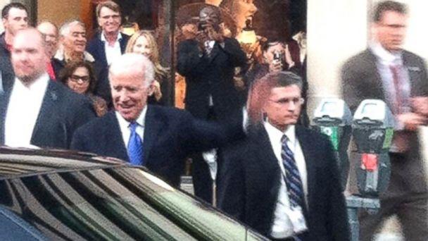 HT joe biden brooks brothers lpl 131014 16x9 608 Joe Biden Shops at Brooks Brothers During Shutdown, Debt Talks