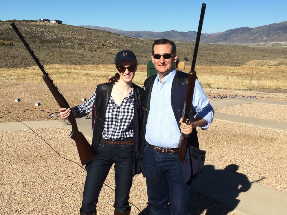 PHOTO: Katie Frost is seen here with Ted Cruz.