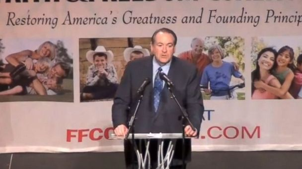 HT mike huckabee tk 140409 16x9 608 In Iowa, Mike Huckabee Drops Serious Hints to Supporters About 2016