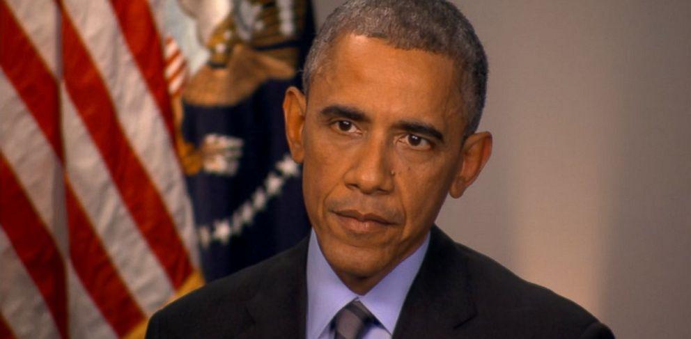 PHOTO: President Barack Obama on This Week.