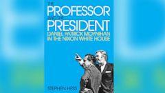 PHOTO: The Professor and The President: Daniel Patrick Moynihan in the Nixon White House