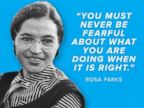 PHOTO: RNC tweets this graphic of Rosa parks, Today we remember Rosa Parks' bold stand and her role in ending racism.