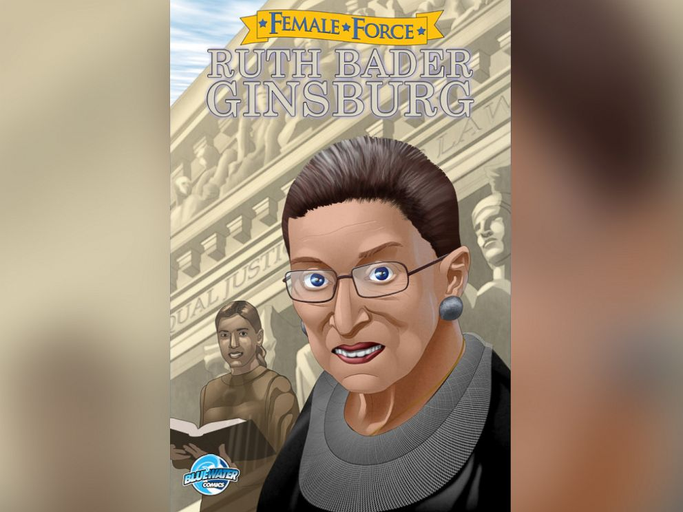 PHOTO: Bluewater Productions published a comic book about Ruth Bader Ginsburgs life for its Female Force series.