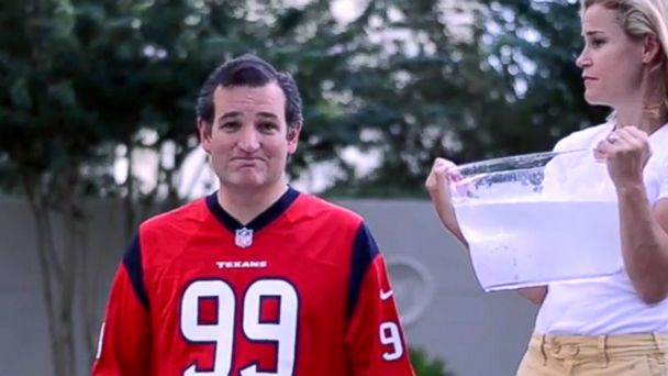 HT ted cruz jef 140821 16x9 608 Ice Bucket Buzzkill: Lawmakers, Government Officials Cant Participate