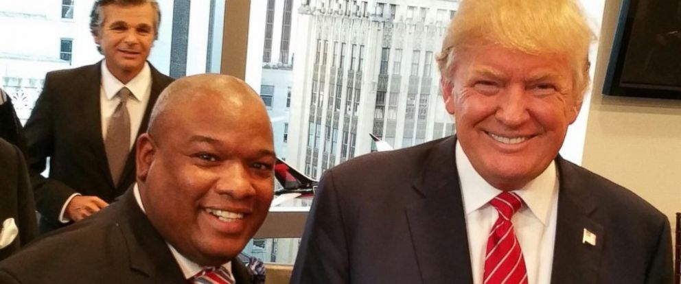 PHOTO: Pastor Mark Burns is seen with Donald Trump in this image posted to his Instagram account.