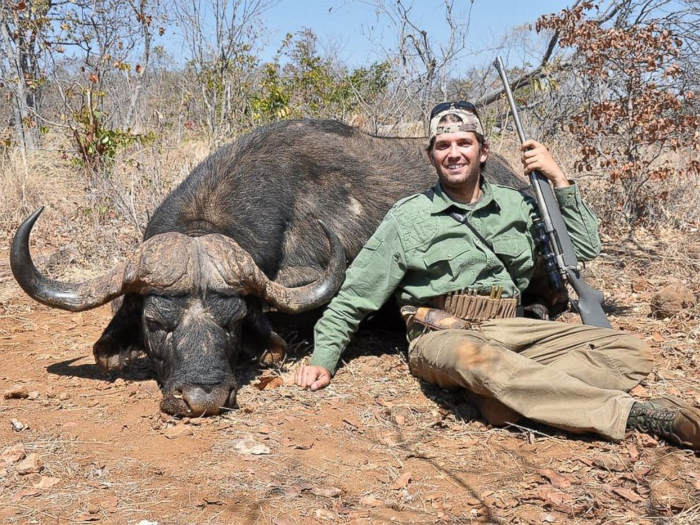 PHOTO: Huntinglegends.com posted on their Flickr page images of Donald Trumps son, Donald Trump Jr., hunting on safari.