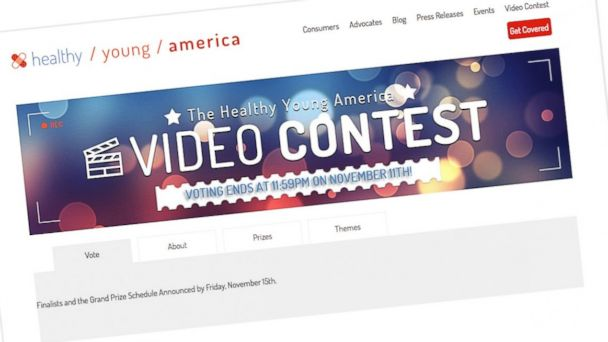 HT young americans website nt 131112 16x9 608 Not Invincible Obamacare Video Contest Draws Skeptics