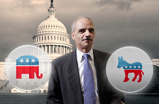 Photo: Holder Says He Will Not Permit T