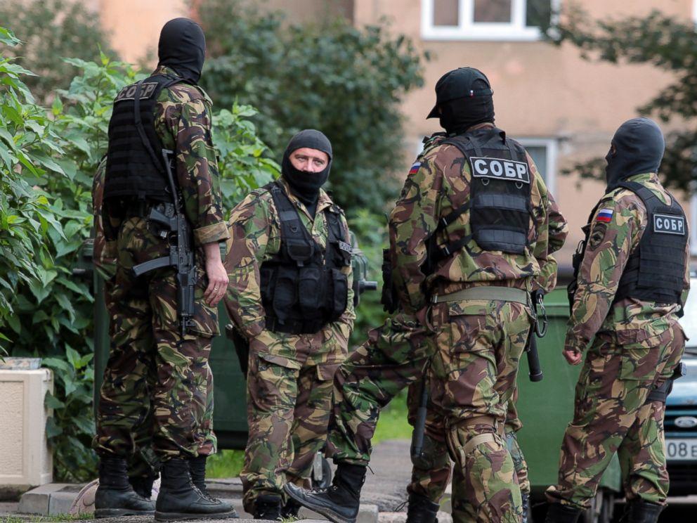 4 Dead in Counterterrorism Raid in St. Petersburg, Russia ...