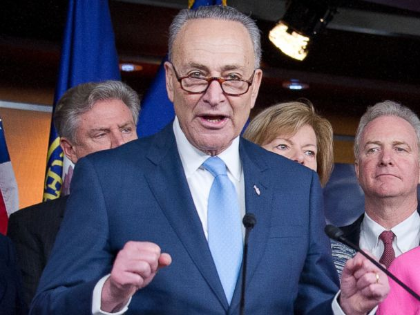 Schumer Previews Bill to Curtail Trump's Authority on Russian Sanctions