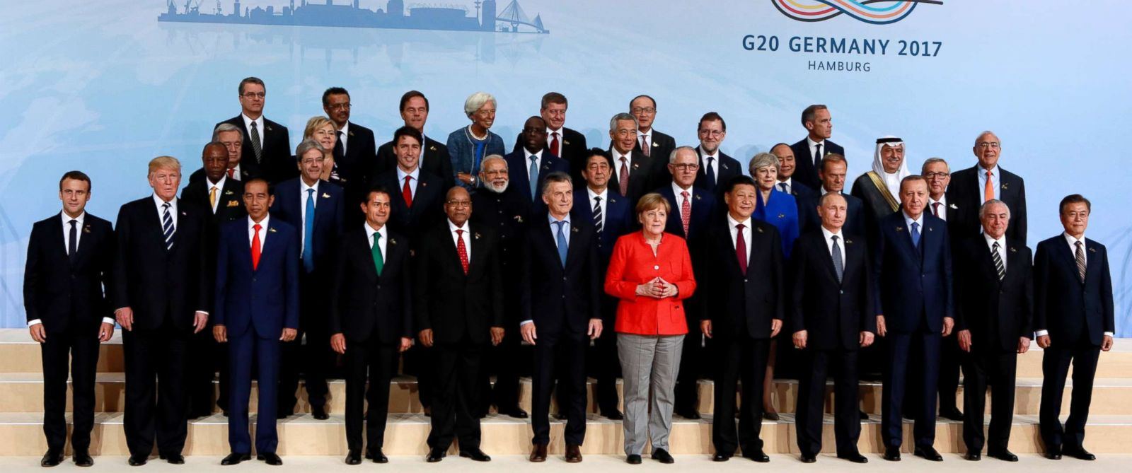 Image result for G20 leaders 2017 Hamburg,