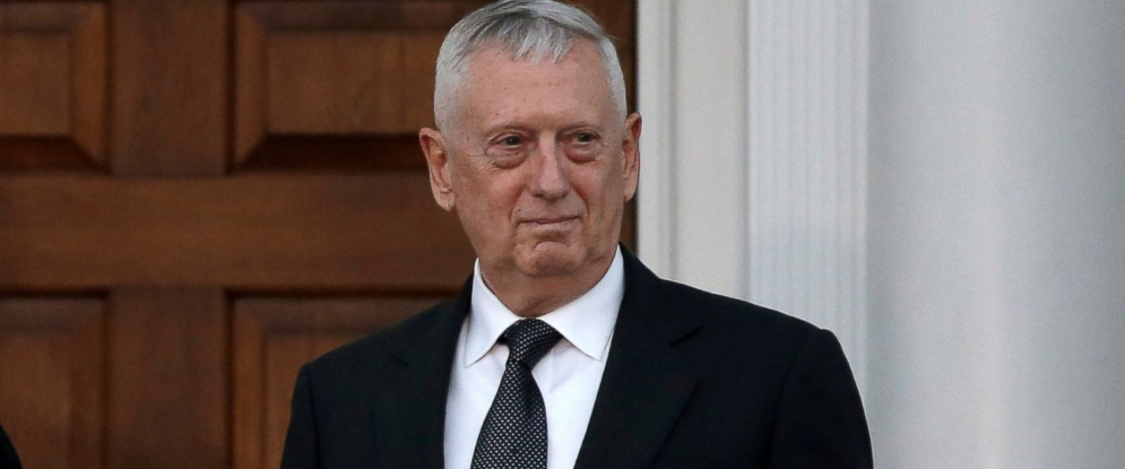 PHOTO: Retired Marine Gen. James Mattis at the main clubhouse at Trump National Golf Club in Bedminster, New Jersey, Nov. 19, 2016.