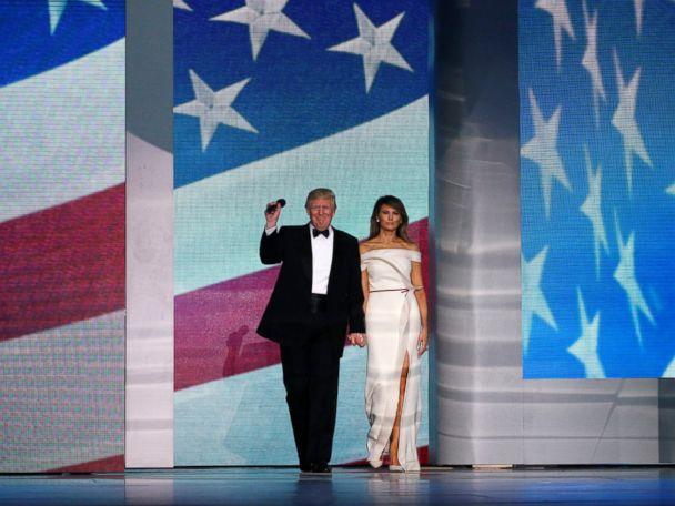 Trump Slams 'Phony Polls' and 'Dishonest Media' at Inaugural Ball