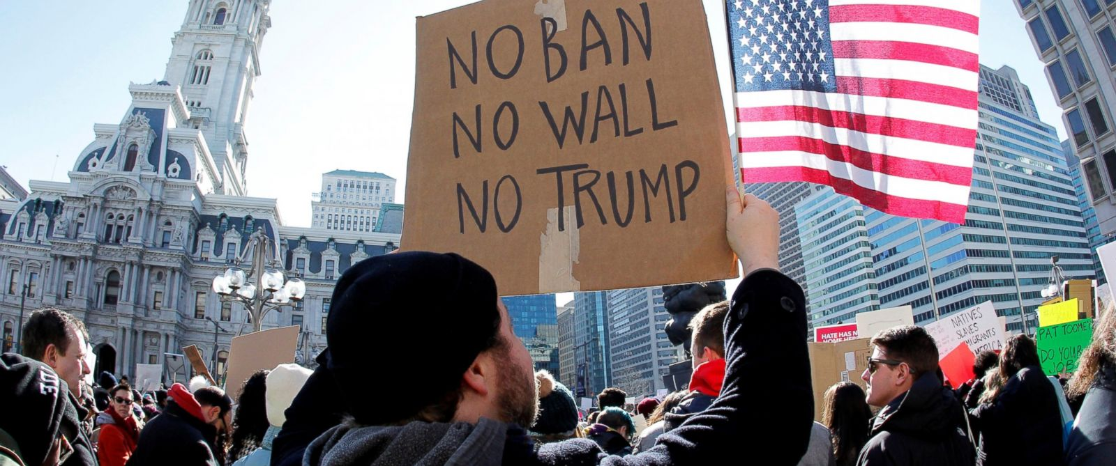 Thousands Join New Protests Against Trump S Immigration