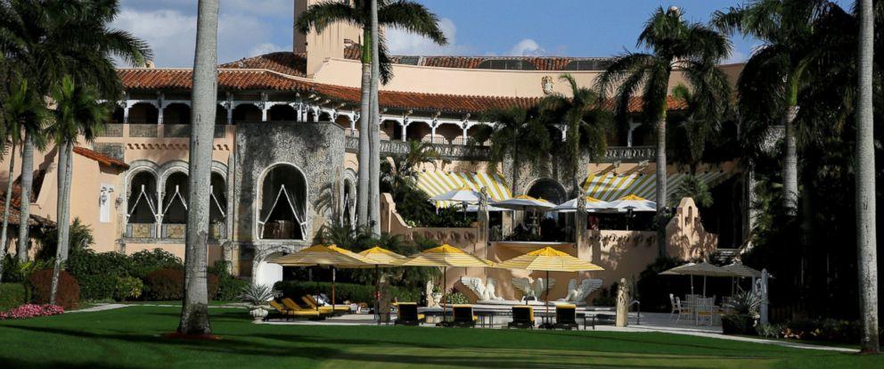 PHOTO: The Mar-a-Lago estate in Palm Beach, Fla., Nov. 27, 2016.
