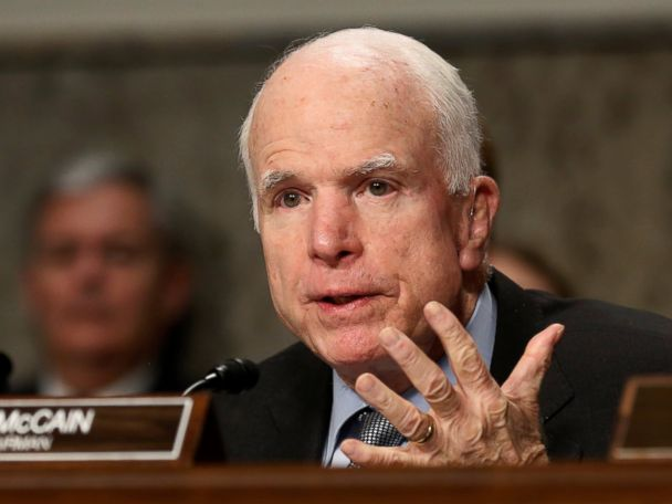 McCain Doesn't Know if He Has 'Utmost Confidence' in President Trump