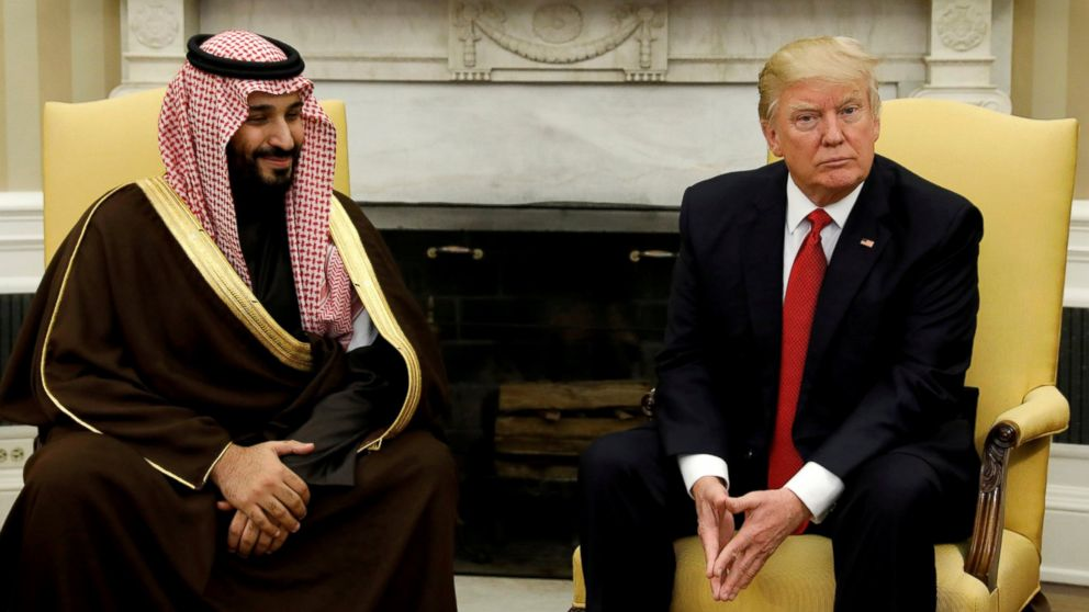 Saudi says Trump visit to bolster security, trade ties