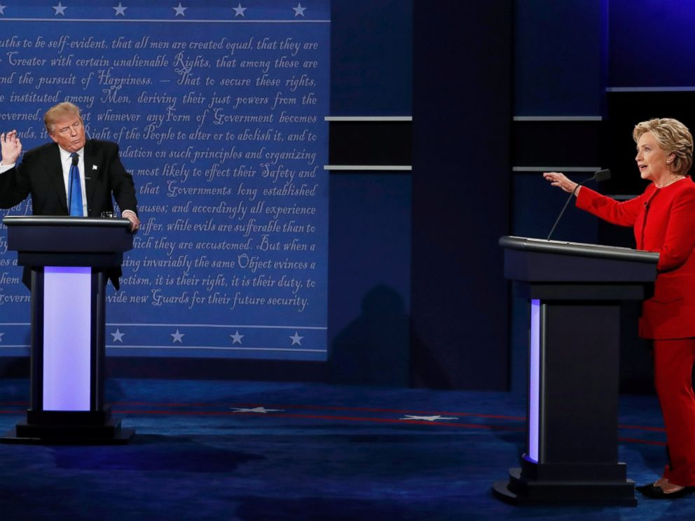 donald trump play possum first debate