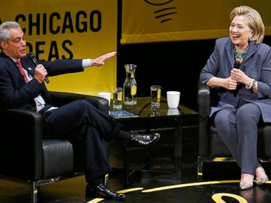 Rahm Emanuel Ribs Hillary Clinton on 'Dead Broke' Comment