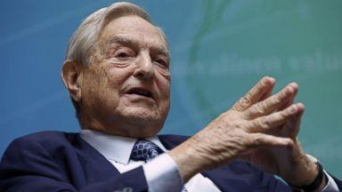 PHOTO: Billionaire investor George Soros speaks at a forum during the annual IMF-World Bank meetings in Washington, Sept. 24, 2011.