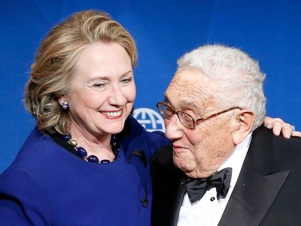 Image result for kissinger hillary