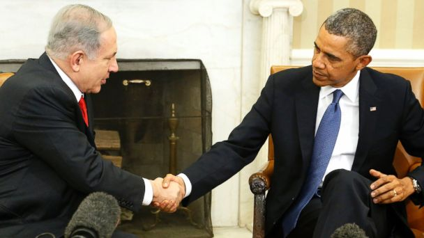 RT netanyahu obama sr 140401 16x9 608 Veteran Mideast Negotiators Advise Against Releasing Pollard