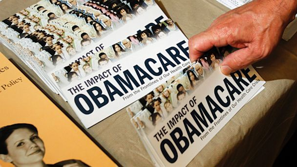 PHOTO: Obamacare Rally Pamphlet