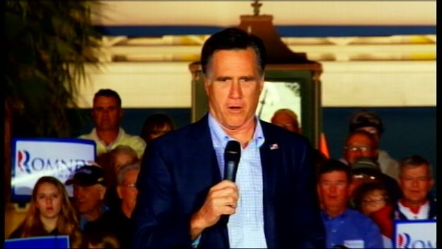 VIDEO: Presidential hopeful belts out patriotic song during Florida rally.