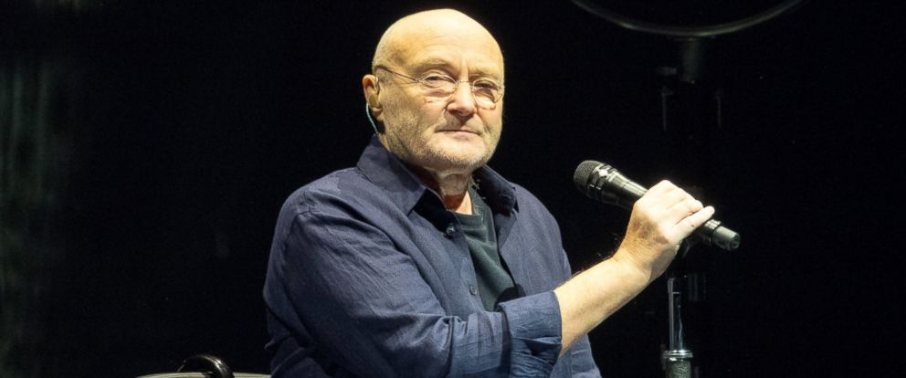 Phil Collins Returns To The Stage With His 16 Year Old Son