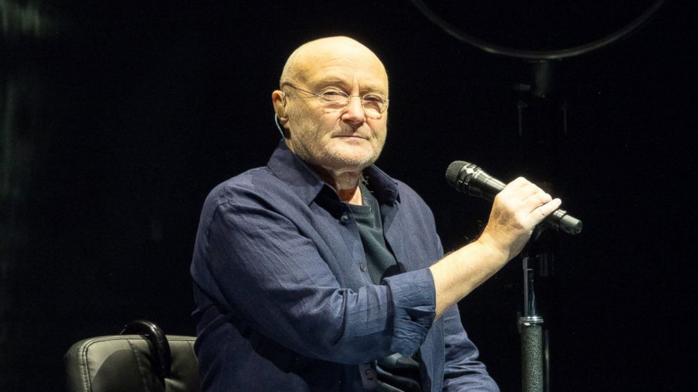 Phil Collins returns to the stage with his 16-year-old son ...