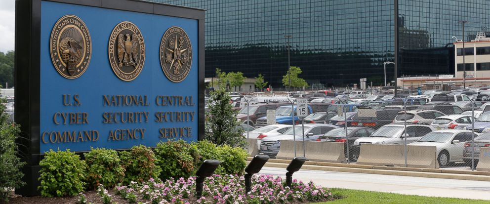 FILE - This June 6, 2013, file photo shows the National Security Administration (NSA) campus in Fort Meade, Md., where the US Cyber Command is located. U.S. officials say the Trump administration, after months of delay, is finalizing plans to revamp