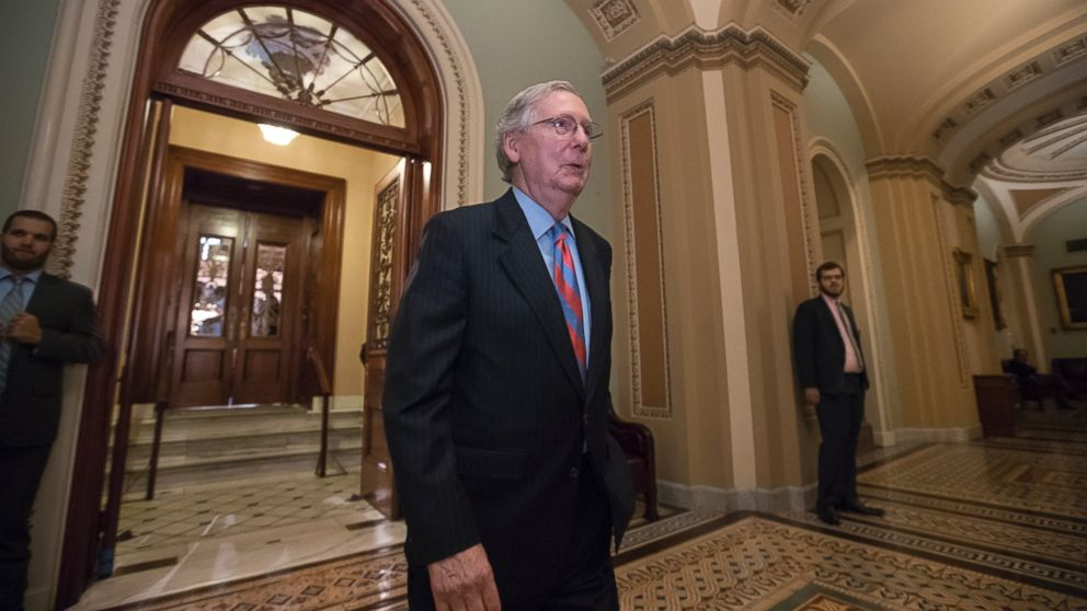 The Latest: Rep. Brooks raps McConnell for health care vote