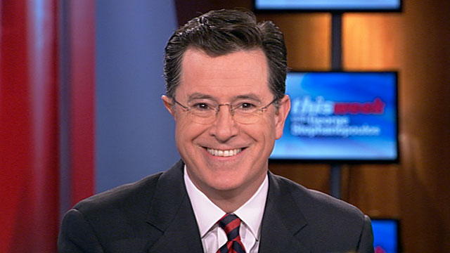 PHOTO: Interview with Stephen Colbert